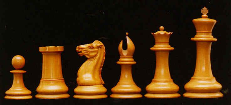 Early Staunton chess set