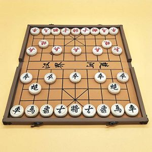 Elloapic Beechwood Xiangqi Chinese Chess Set