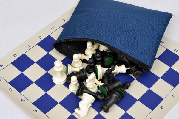 Analysis chess set bag